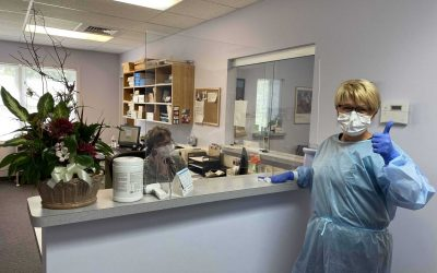 We are open currently seeing smaller volume of patients.